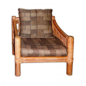 Light Rattan Armchair