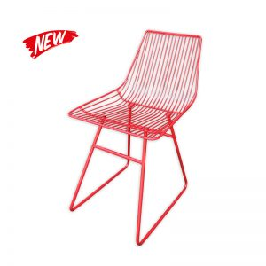 Metal wired Dining Chair