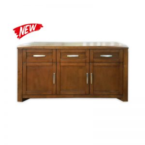 Stylish Dressoir with 3 doors and 3 drawers