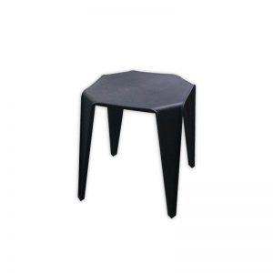 Black Plastic Stool