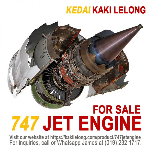 Boeing 747 Engine for Sale