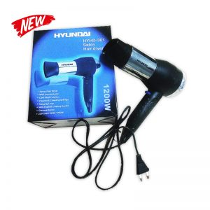Hyundai Travel Hair Dryer HYHD301