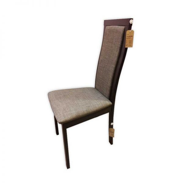 Wooden dining Chair with Tweet Cushioning