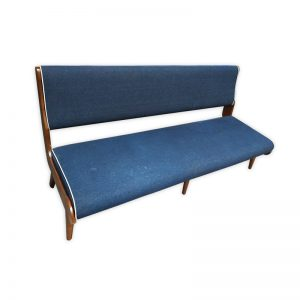 Wooden, Fabric Bench