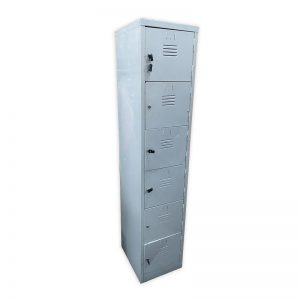 Metal 6 compartment Locker