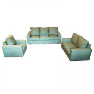 Couch Set 3+2+1 Green