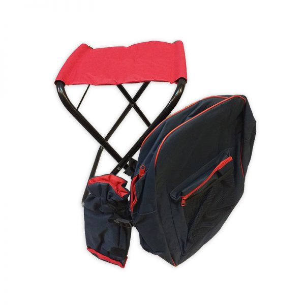 Backpack with foldable Chair