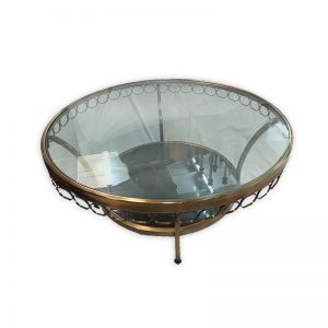 Glass Top Coffee Table Ø1070mm