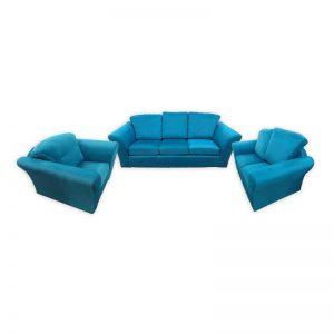 Art Nouveau turquoise 3+2+1 Set