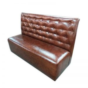 Chesterfield PU Banquet Couch
