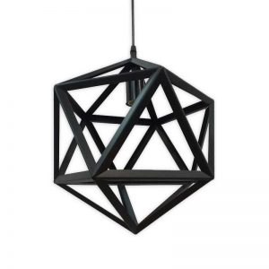 Ceiling Icosahedron Light Fixture