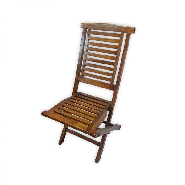 Foldable Wooden Garden Chair