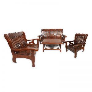 Wooden Couch 3+2+1 set