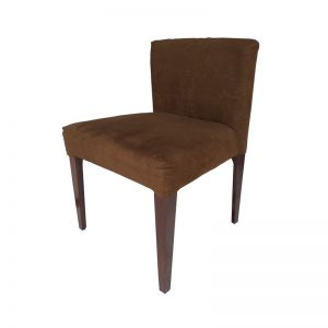 Cushioned Dining Chair with Low back