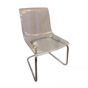 Plastic Transparent Dining Chair