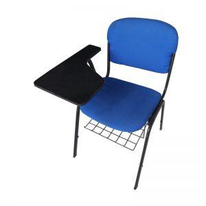 Fabric study Chair with Writing Pad