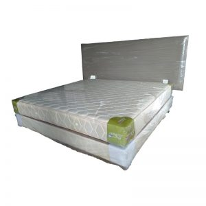 King-size Divan, Mattress and Headrest