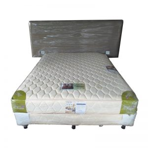 Queen-size Divan, Mattress and Headrest