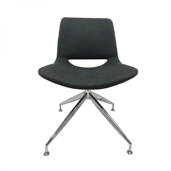 Cushioned Swivel Chair