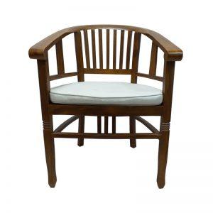 Wooden Armrest Chair
