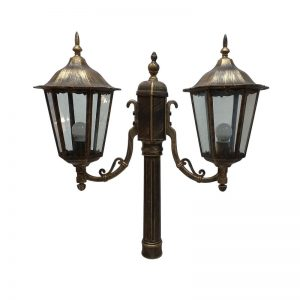 Brass Light Fixture