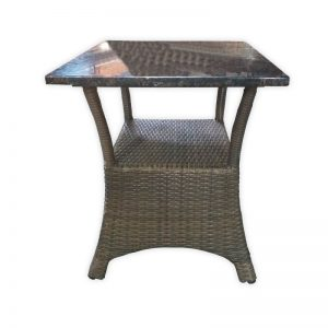 Rattan PU Restaurant Table