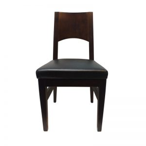 Cushioned PU Dining Chair