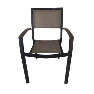 Metal Frame Outdoor Restaurant Chair