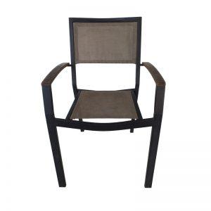 Metal Frame Outdoor Restaurant Chair