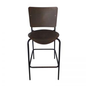 Wooden seat Bar Chair