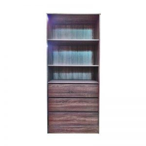 Book Cabinet with Drawers