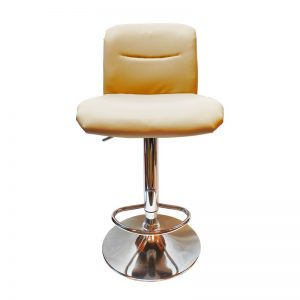 Cushioned PU Bar Chair