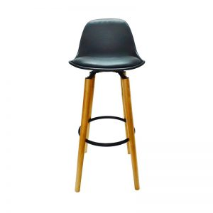 Cushioned PU Barstool