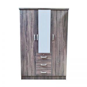 Double door Closet with Mirror