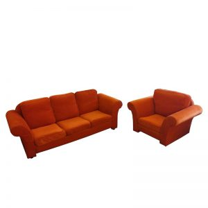 Fabric Sofa Set 3+1