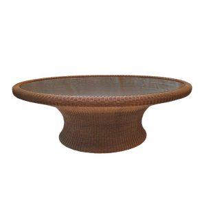 Rattan Look Coffee Table
