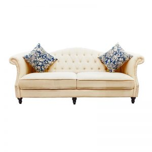 2½-Seater Fabric Sofa