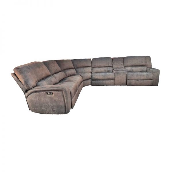 Corner 7-Seater Sofa with armrests
