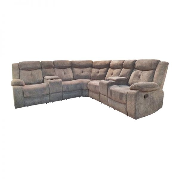 Corner 5-Seater Sofa with armrests