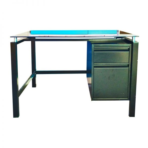 Writing Table with Glass Top