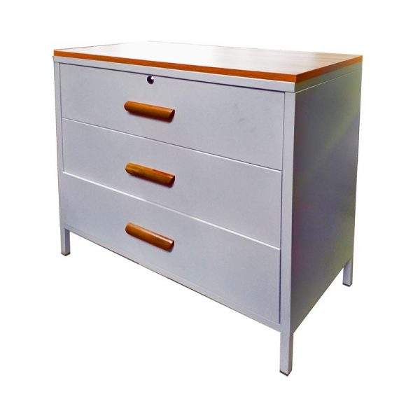Modern Cabinet with 3 Drawers