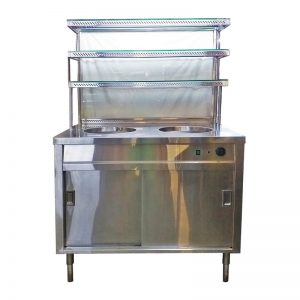 Stainless Steel Hawker Stall