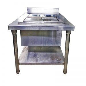 Stainless Steel Ice Storage