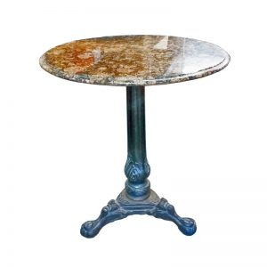 Outdoor Table with Granite Top
