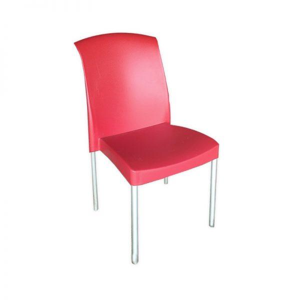 Red Restaurant Chair