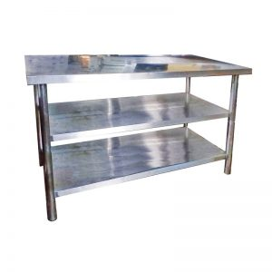 Stainless Steel Word Bench