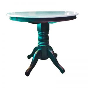 Round Chinese Restaurant Table with Marble Top