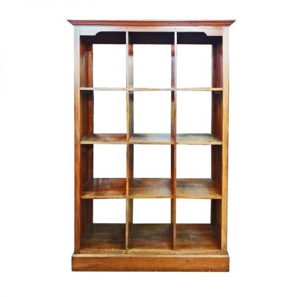 Antique Wooden Book Cabinet