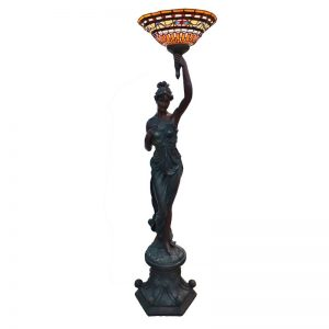 Female Statue Lamp