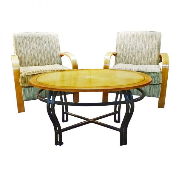 Living Room Set (2 chairs + table)